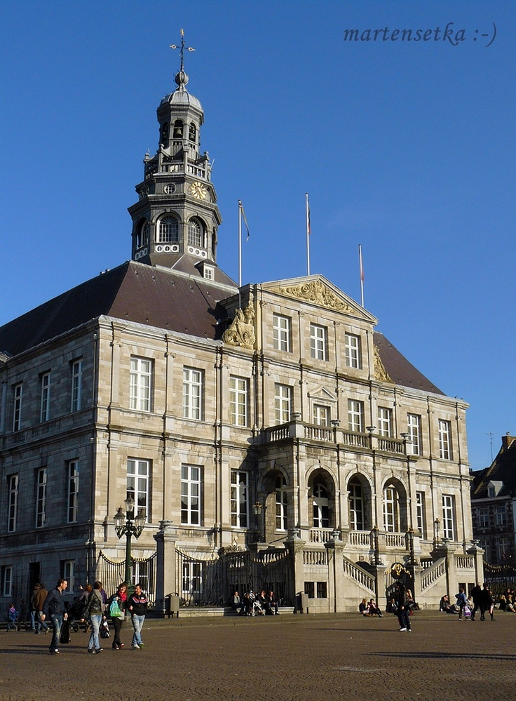 Maastricht, town hall, The Netherlands