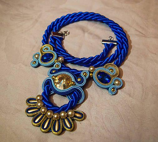 Bash-arT soutache necklace
