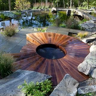 167 best hot tub designs images on pinterest backyard ideas and pool ideas - Saltwater Hot Tub