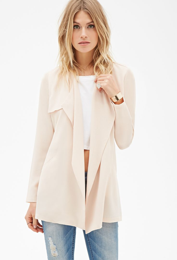 Belted Crepe Trench Coat | Forever 21 - 2000099021
