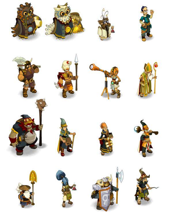 Dofus Art: персонажи | Флеш-анимация и дизайн