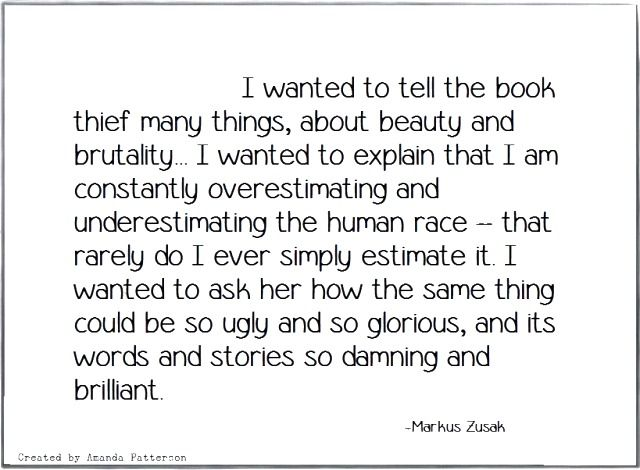This Is My Favorite Quote. Just Read The Book. It's So