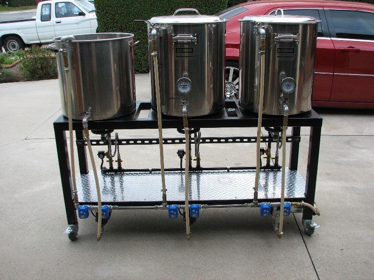 Single Tier 3 Pump Bcs 462 Automated Rig Brew Rig