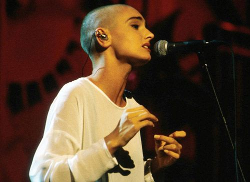 Sinead O'Connor - Even to this day one of the most unique voices in POP.