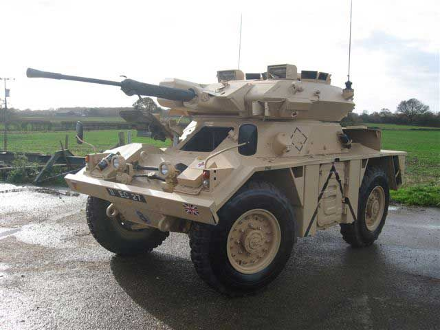 FV721 Combat Vehicle Recon Wheeled CVR(w) Fox Armoured Car