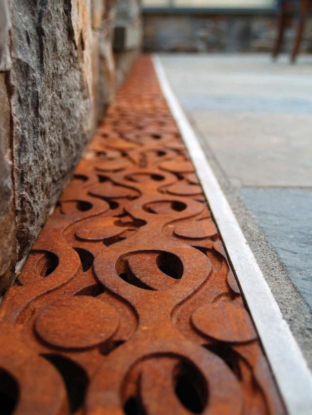 Seattle-based Iron Age Designs recycles engine blocks and brake drums to create cast-iron drainage grates like no other