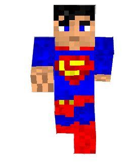 superman minecraft skin