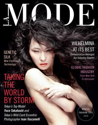 La Mode Fashion Magazine Winter Edition  LA MODE is... a contemporary and vibrant fashion magazine designed to connect, integrate and centralize the thriving world of fashion.  As fashion insiders, we aim to cultivate collaborative professionalism. Through wider appreciation and recognition of each other's talent, we will reach our ultimate goal: optimizing the fashion industry's creative capacity.  LA MODE will give you and the fashion industry a fresh voice.  We will showcase the unique…