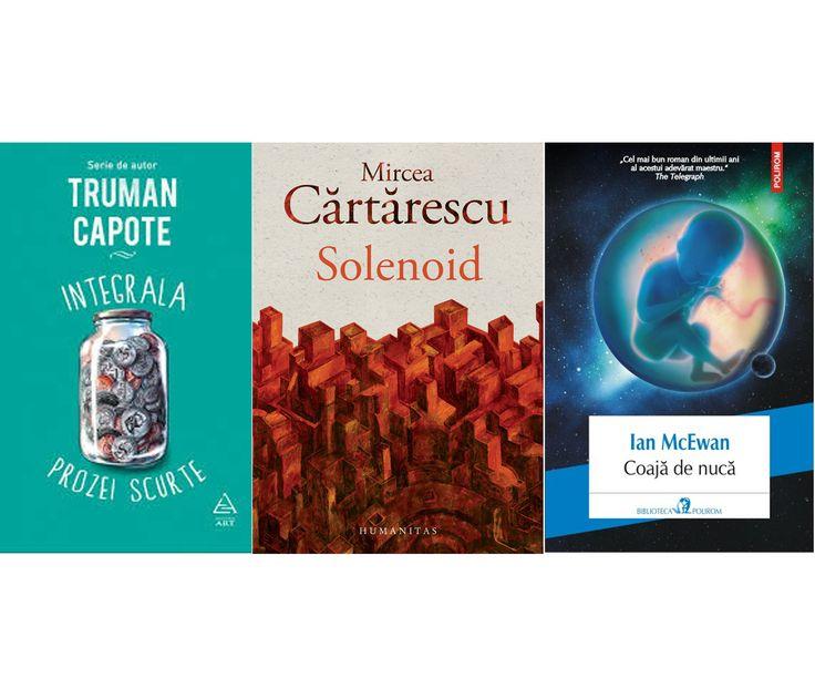 Am invitat scriitori români să ne spună care sînt cărțile care le-au plăcut cel mai mult anul acesta. Mergeți pe mîna lor și