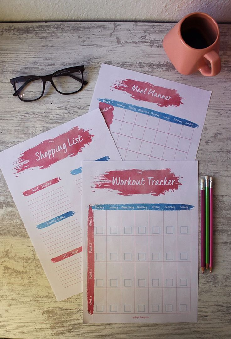 The #Ultimate #Guide #to #Fitness #Planning # + #FREE #Monthly #Planner #Printable, #fitness …