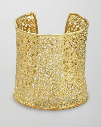 Gold Cuff - FABULOUS!