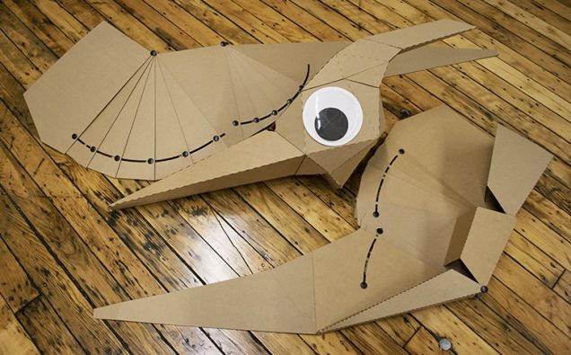 It's going to be a banner year for blockbuster movies, which means there will be lots of great costume choices once Halloween rolls around. And if you're partial to the upcoming Jurassic World and its dinosaurs, you'll love Lisa Glover's simple pterodactyl getup, made from completely recyclable cardboard.