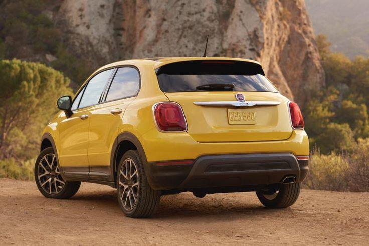 Odkrywaj nowe miejsca z Fiatem 500X Crossover.