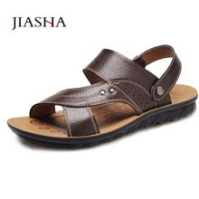 US $11.34 Men sandals sandalias hombre men shoes 2016 new fashion pu cozy mens flip flop sandals shoes men. Aliexpress product