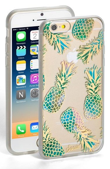 Free shipping and returns on Sonix 'Liana Teal' iPhone 6 Case at Nordstrom.com. Pineapples add a tropical punch to this slim, impact-resistant case meant to protect and display your iPhone 6.