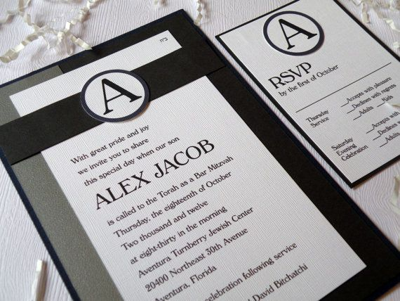 17 Best images about Bar Mitzvah invites on Pinterest English, The - best of invitation english