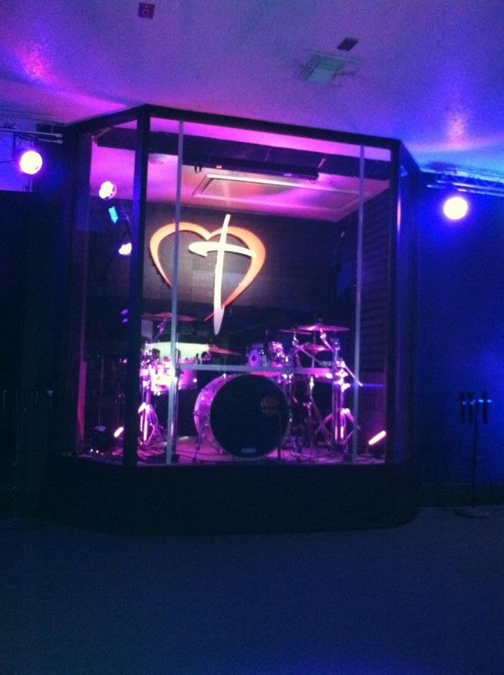 10 Images About Drum Enclosures On Pinterest Church
