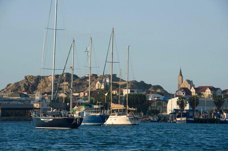 luderitz | Anchored in Luderitz Harbor