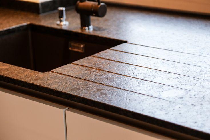 Lechner Küchenarbeitsplatten Design Nero Asoluto
