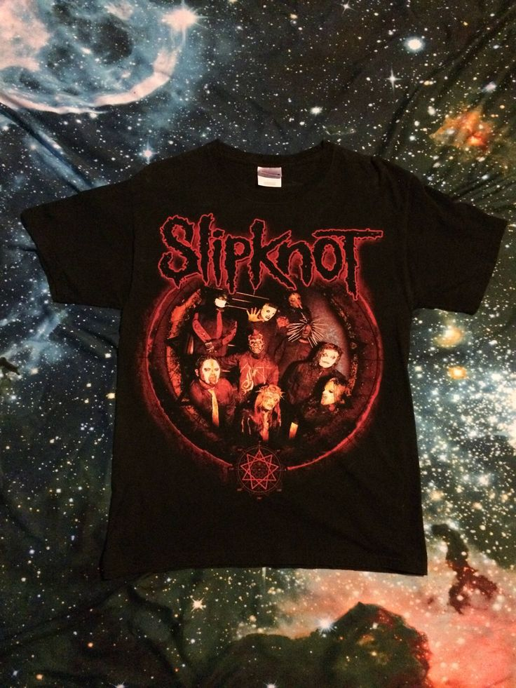 Vintage 90's Slipknot Band T-Shirt by VintageVanShop on Etsy