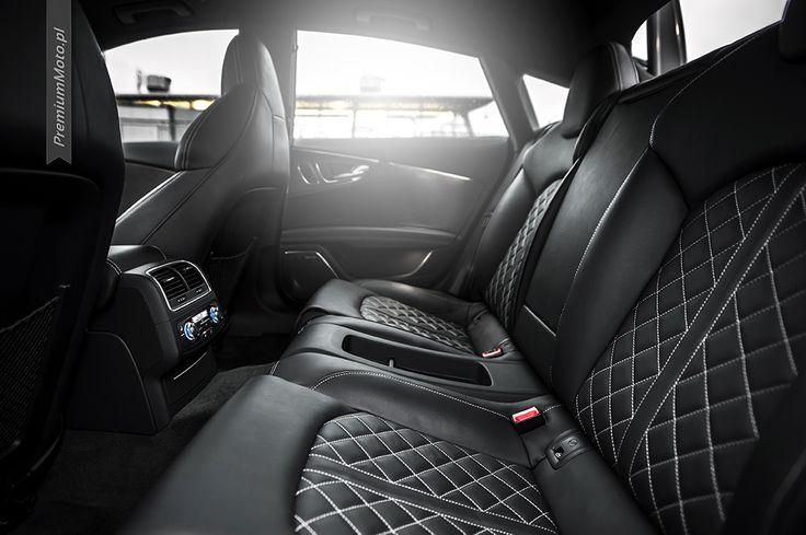 Audi S7 interior, rear seats #audi #s7 #interior see more: http://premiummoto.pl/11/14/audi-s7-nasza-sesja