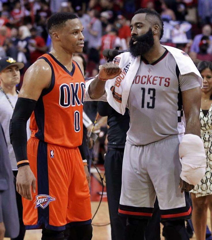The NBA MVP Race : Russell Westbrook vs James Harden