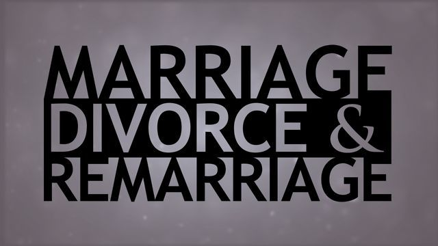 With more than half of marriages ending in divorce, to say that a study of the subject is needed is an understatement. Most people don't know what God has to say about divorce, and many don't care.  In this study, Don Blackwell delves into a crucial topic that is affecting the very fabric of our society. If you are considering divorce or you know someone who is, please don't go any further until you watch this video. Be sure that you understand what God has to say on this subject of eternal…