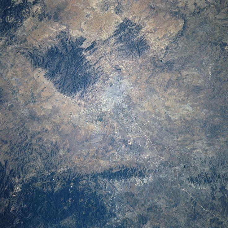 Imagen de satélite de San Luis Potosí