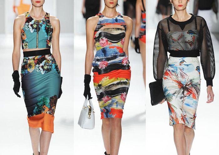 New York Fashion Week – Spring/Summer 2014 – Print Highlights – Part 3 catwalks