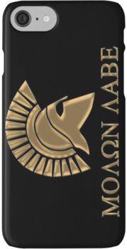 Molon labe-Spartan Warrior iPhone 7 Cases