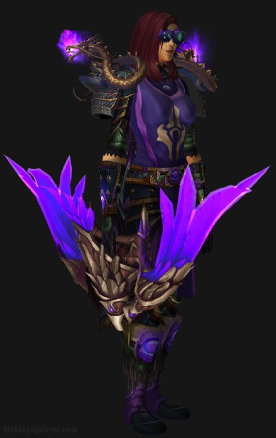 Human Female Marksmanship Hunter Artifact Transmog