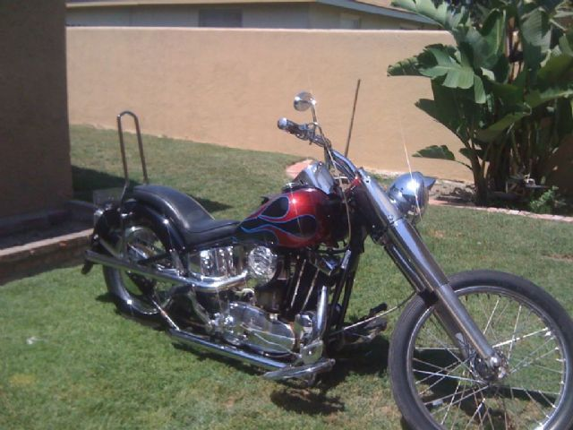 1961 Harley-Davidson HARLEY DAVIDSON Classic , black/deep red for sale in FULLERTON, CA