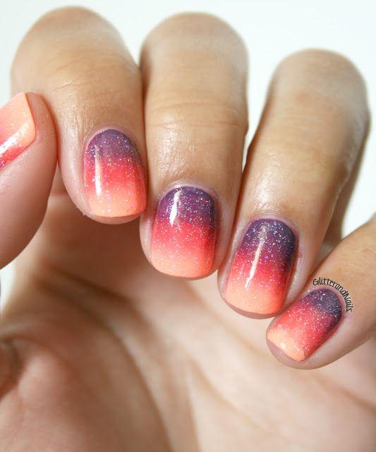 Sunset Gradient (vu sur Glitter and Nails @Marie )