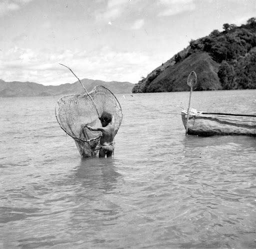 A net used for lobster fishing - Google Arts & Culture