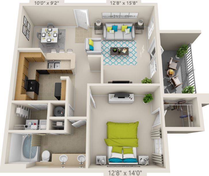 The Jamestown Smart Home Design Apartment Layout Sims House