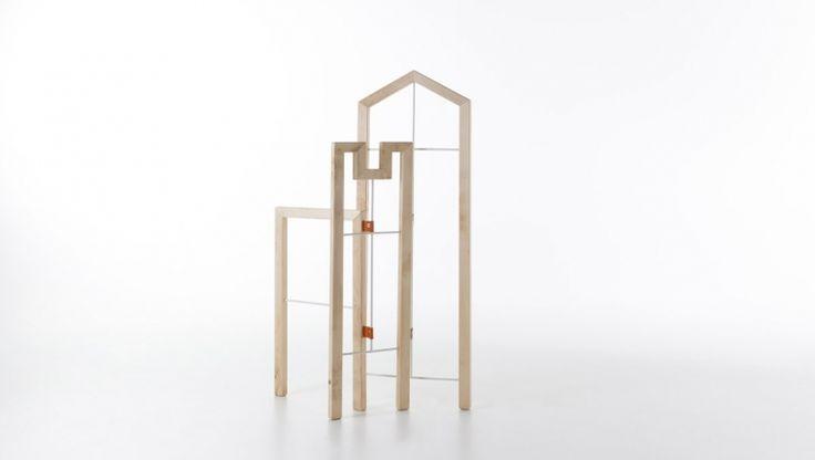Tusciao / valet stand / design Andrea Brugnera / Formabilio