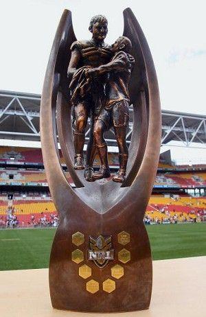 NRL Grand Final trophy.