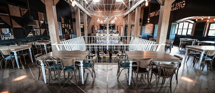 eclectic industrial design restaurant http://yellowoffice.ro/projects/smart-pub
