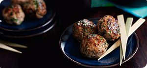 Love meatballs? This Spanish-inspired recipe is delicious on its own or in a tangy tomato sauce.