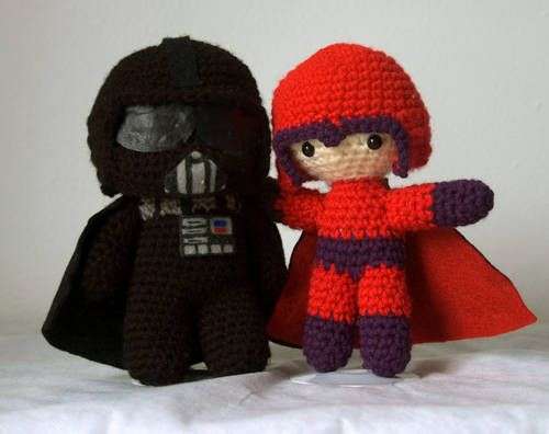Free Crochet Star Wars Doll Patterns : Darth Vader pattern! Craft ideas Pinterest Amigurumi ...