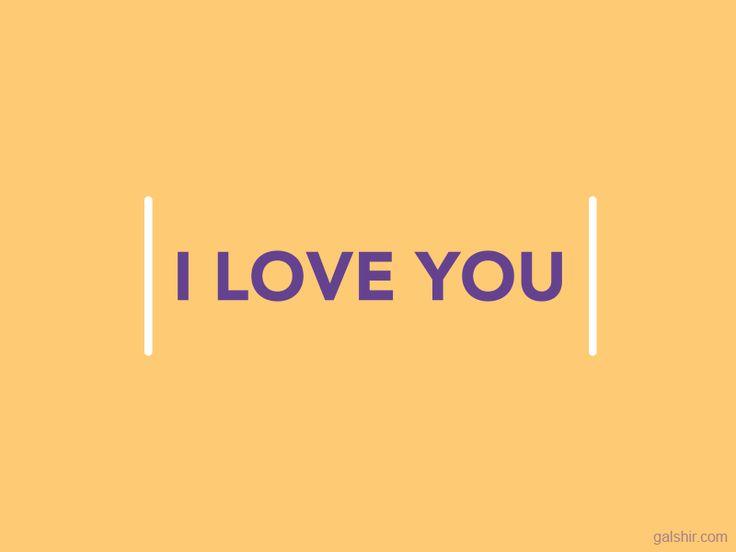I Love You Responsive