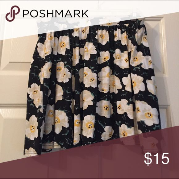 Flora skirt Floral pattern skirt ASOS Curve Skirts Mini