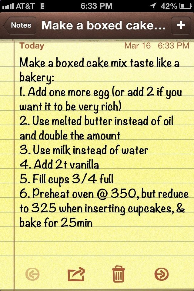 How to make a boxed cake taste like a bakery cake