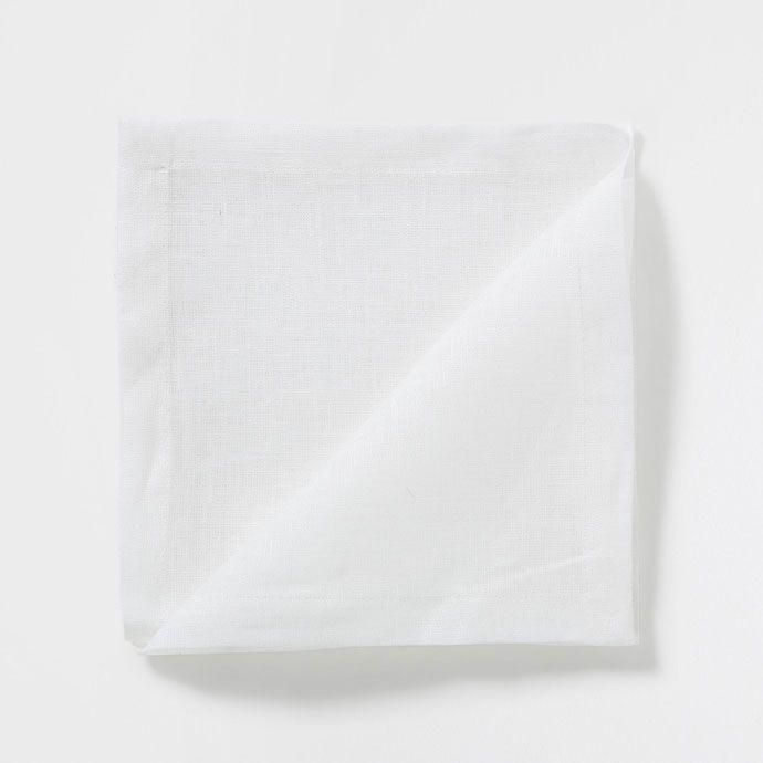 Plain White Linen Napkins (Set of 4) - Napkins - Tableware | Zara Home United…