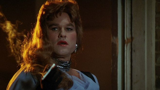 """Kurt Russell.  """"I was looking in the mirror at a really ugly version of my mother,"""" Russell said of dressing in drag for 1989's Tango & Cash."""