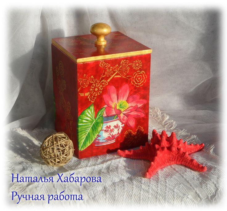 Короб для сыпучих продуктов или вкусных конфет:) Восток