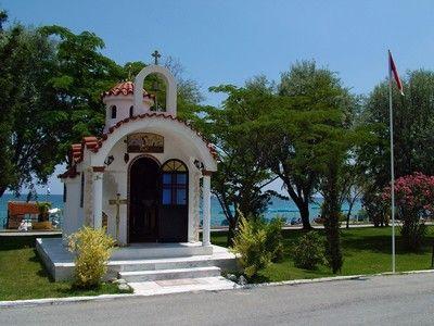 Wayside shrine side view.