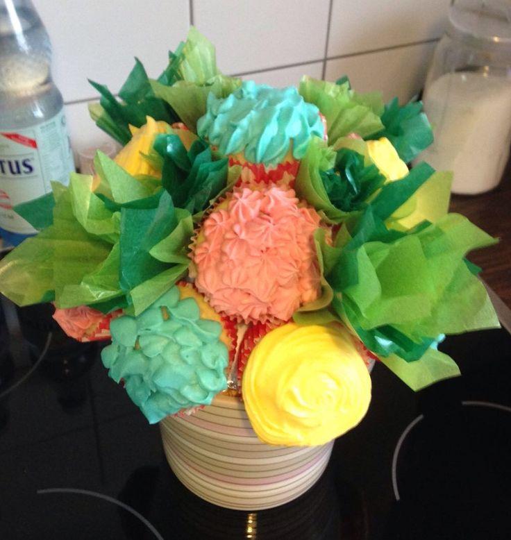 Blumenstrauß Cupcakes