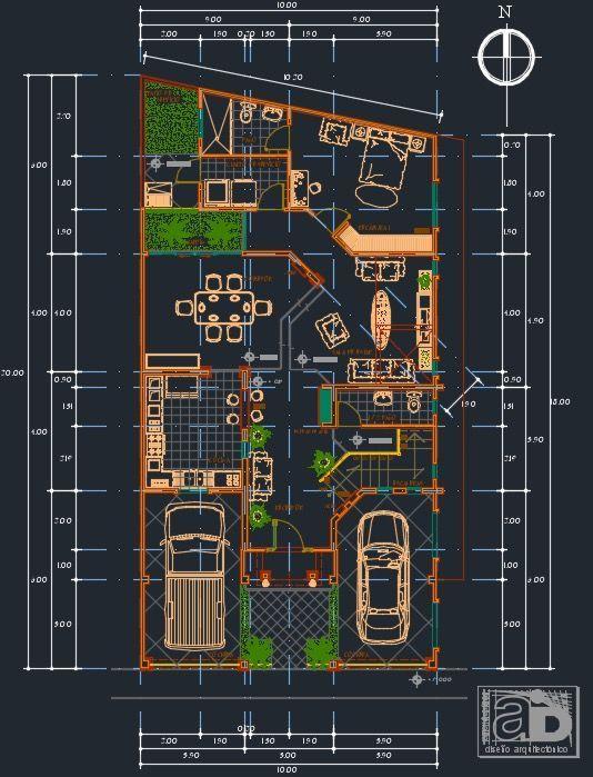 plano de casa primer piso vista previa
