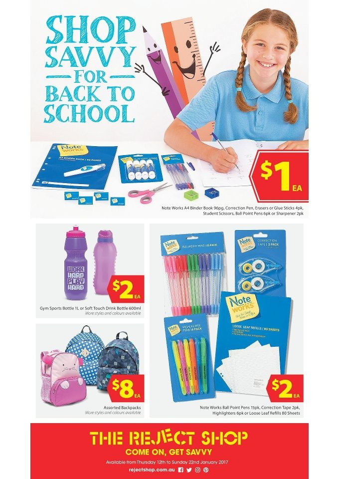 The Reject Shop Catalogue 12 - 22 January 2017 - http://olcatalogue.com/reject-shop/the-reject-shop-catalogues.html